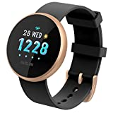 TADAMI Female Heart Rate Color Screen Physiological Period Reminds Fashion Smart Bracel (Black)