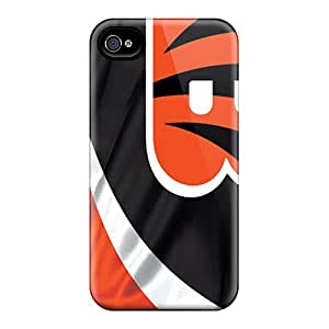 Anti-Scratch Hard Phone Covers For Iphone 5s With Customized HD Cincinnati Bengals Series JamieBratt