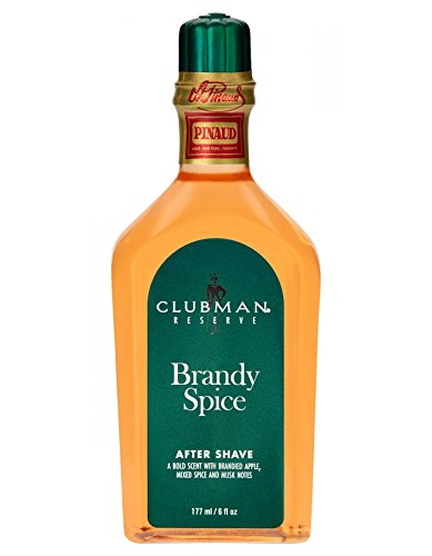 Clubman Reserve Brandy Spice After Shave Lotion, 6 Fluid Ounce