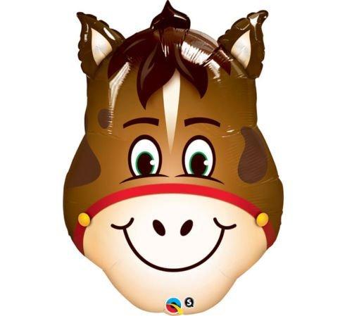 LoonBalloon HORSE Farm Barn Barnyard Head Face Shape 32