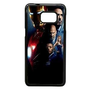 Design Cases Shell Samsung Galaxy S6 Edge Plus Cell Phone Case Black kino zheleznyj elovek iron man Dlbeq Printed Cover