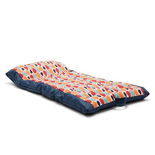 Big Joe 0953927 Bean Bag, Multicolor Kona Float Fiesta Geo Drop