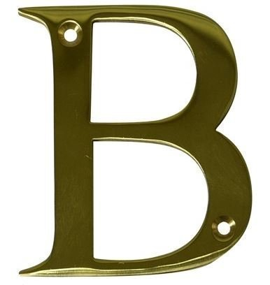 House Door Letters - Letter B - in Polished Brass - Gold - All Door Types  sc 1 st  Amazon.com & Amazon.com: House Door Letters - Letter B - in Polished Brass - Gold ...