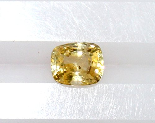 Sapphire Heated Yellow - non-heated 2.75ct cushion yellow sapphire,yellow sapphire