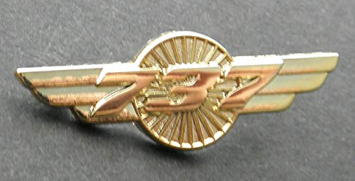Pin for Hats - Boeing 737 Pilot Wings Gold Colored Aircraft Plane Lapel PIN Badge 1.5 INCHES - Decoration for Clothes