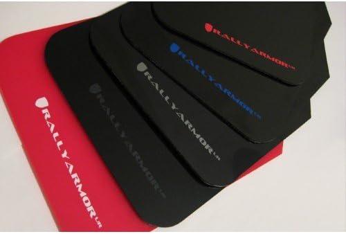 RALLY ARMOR UR BLACK MUD FLAPS FOR 2004-2009 MAZDA3 MAZDASPEED3 w// RED LOGO