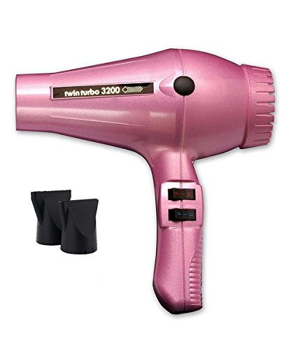 TURBO POWER 324 Twin Turbo 3200 Professional Hair Dryer Pink