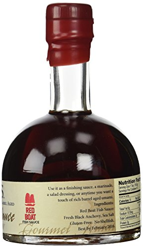 Blis barrel aged fish sauce 200 ml bottle buy online in for Where to buy red boat fish sauce