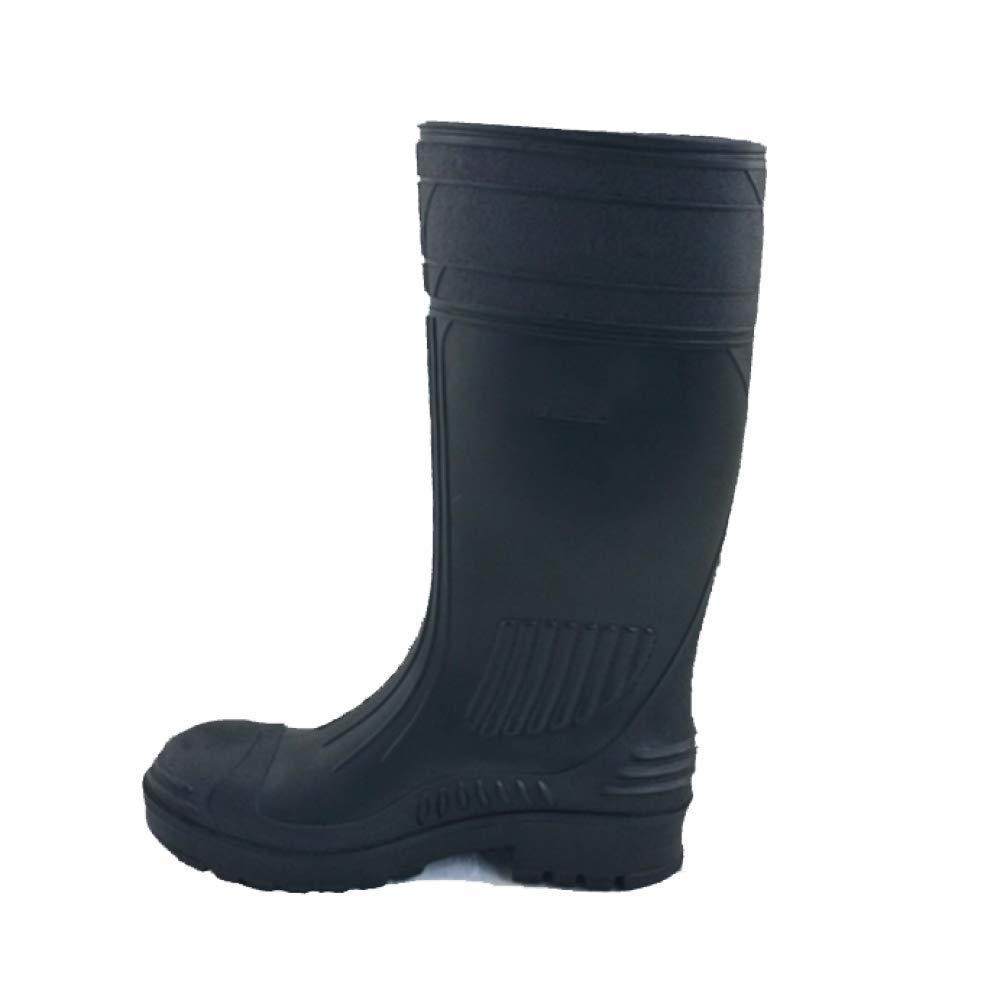 ZPEDY Männer Hohe Schlauch PVC Pannensichere Regen Stiefel Mode Komfortable Rutschfeste Fischer Stiefel