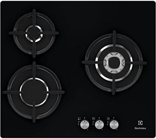 Electrolux EGT6633NOK Integrado Encimera de gas Negro hobs - Placa ...