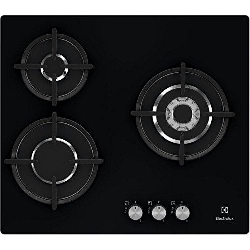 Electrolux EGTNOK Integrado Encimera de gas Negro hobs Placa Integrado Encimera de