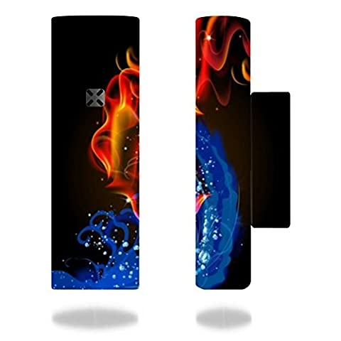 Ploom Pax 2 Vape E-Cig Mod Box Vinyl DECAL STICKER Skin Wrap / Sticker Skin Print Fire Water Vape Bright Colored Smoke (Cool Fire 2 Vape Mod)