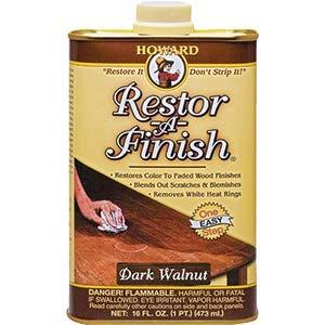 Howard Products Howard RF6016 16 oz. Dark Walnut Restor-A-Finish - 6ct. Case