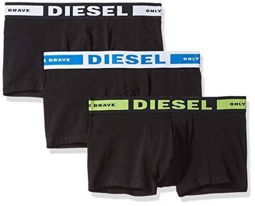 (Diesel Men's UMBX-Korythreepack Fresh Bright Boxer 3pack, Green/Blue, M)