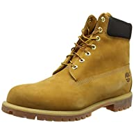 Timberland Mens 6 Inch Premium Waterproof Wheat Nubuck Work Boot - 8.5 W