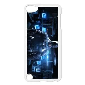 iPod Touch 5 Case White Batman Hard Unique Phone Case Cover XPDSUNTR09683