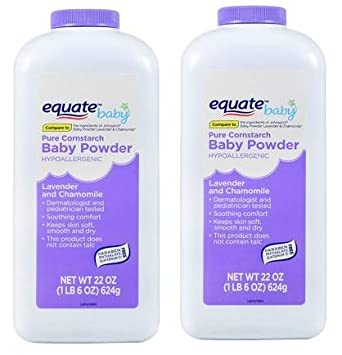 15oz By Judastice Equate Pure Cornstarch Baby Powder With Aloe And Vitamin E Baby Bathing & Grooming