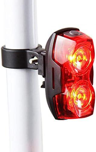 ZOMEBER Luz Trasera De Bicicleta LED Desmontable 1 Watt Super ...