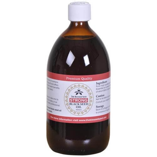 The Blessed Seed Strong Black Seed Oil 1000ml by The Blessed Seed