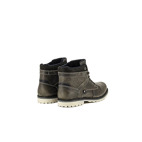 Bullboxer B256-K5-5118B Zapatos de cordones Hombre gris, EU 42