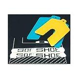 Precision Brand 49110 3''X3''X.020'' BLUE SOF'SHOE SLOTTED SHIM