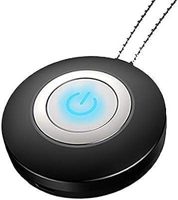 Sunoney - Collar de purificador de Aire Personal con Mini generador de Iones Negativos portátil para Adultos y niños: Amazon.es: Hogar