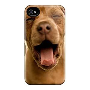 Obamacase Case Cover For Iphone 4/4s - Retailer Packaging Dog Doggy Full Hd 3d Protective Case