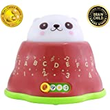 BEST LEARNING Whack & Learn Mole - Interactive Light-Up Baby Toddler Toys for Kids 6-36 Months Old Infants & Toddlers - Educational Alphabet, Colors, Numbers & Night Light & Music Game for Babies