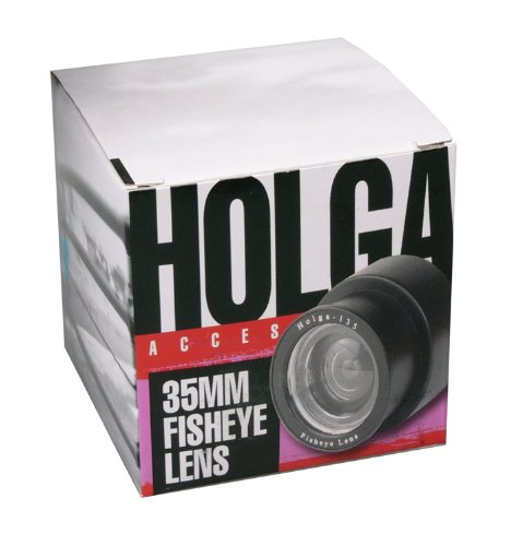 Holga Plastic Fisheye Lens for 35mm Cameras by Holga