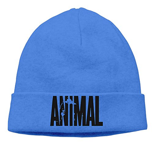 Best Animal Letter Print Stringer Bodybuilding Beanie Hat Knit Hat Slouchy Beanie (Best Prohormone For Lean Muscle)
