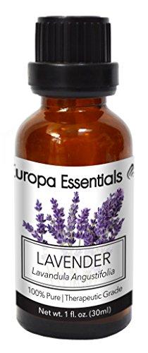 Europa Essentials 100% Pure Therapeutic Grade Essential Oils, 36 Aromatherapy Scents Collection – Lavender, 30ml