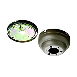 Monte Carlo MC90 Low Ceiling Adaptor, Titanium