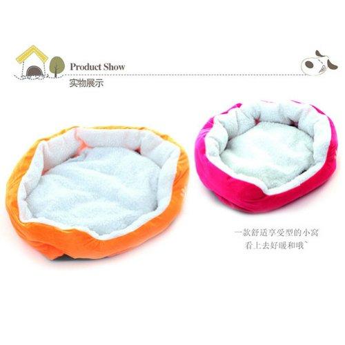70%OFF Comfortable Pets Dog Cats Puppy Kitten Soft Fleece Bed Nest Pad Mat S L 5 Colors
