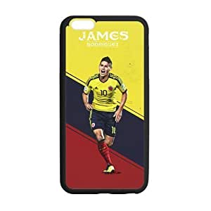 iPhone 6 Plus Case, [soccer player] iPhone 6 Plus (5.5) Case Custom Durable Case Cover for iPhone6 TPU case(Laser Technology)