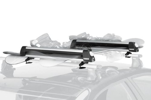 Fiat 500 Thule Roofmount Ski and Snowboard Rack