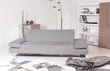 Willi Schillig Modell 22070 Taboo 3er Sofa Stoff Silbergrau