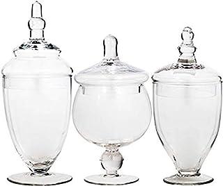 Home Essentials 3013 Apothecary Jar BB Terra Set of 3 (B001HI3YOS) | Amazon price tracker / tracking, Amazon price history charts, Amazon price watches, Amazon price drop alerts