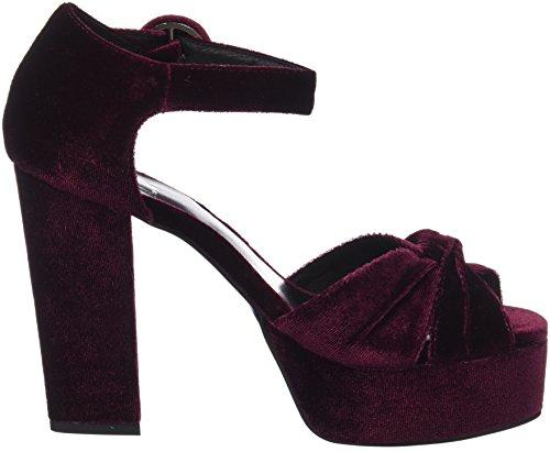Sandals 640 575z65vk lou Red Women's bibi Platform Burgundi IZ08aRwqqx