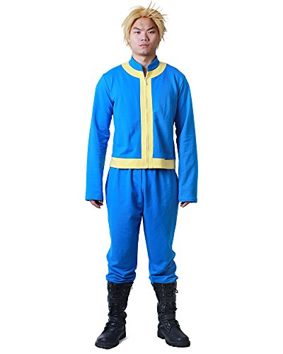 Fallout Cosplay Costume (Miccostumes Men's Pip-boy Cosplay Costume (men s))