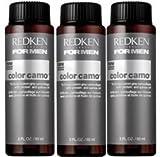 Redken For Men 5 Minute Color Camo - Dark Ash 3 bottles 2oz each by REDKEN