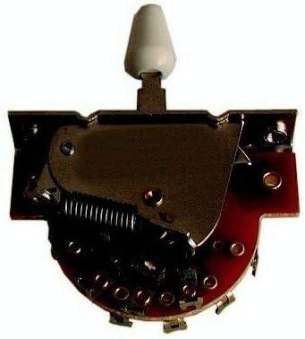 Switch Selector con 5 posiciones guitarra eléctrica Telecaster ...