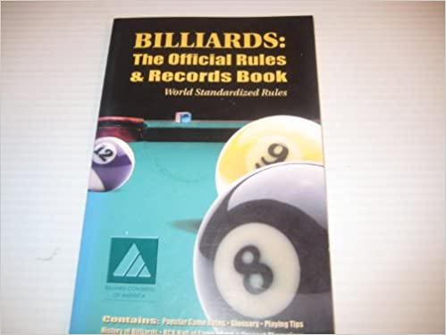 Billiards: The Official Rules and Records Book (World