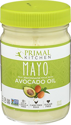 Primal Kitchen   Avocado Oil Mayo  Gluten And Dairy Free  Whole30 And Paleo Approved  12 Oz
