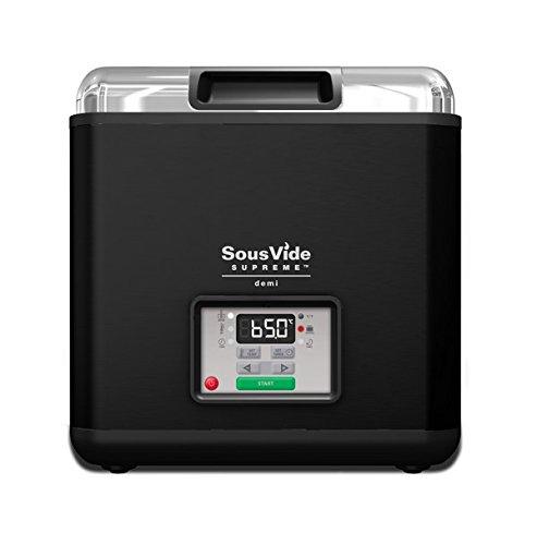 Sous Vide Supreme Demi Water Oven, Black, SVD-00101