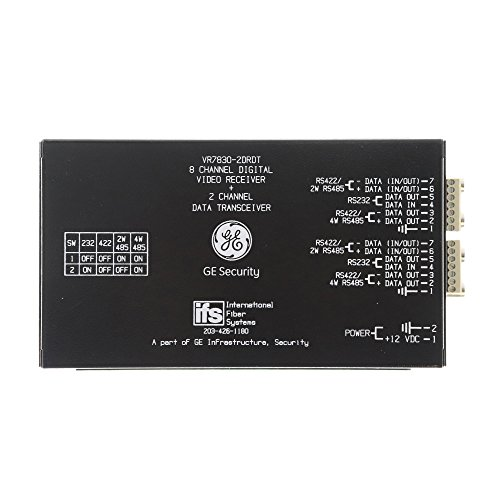 IFS GE VR7830-2DRDT 8-Channel Digital Video, 2-Channel Multiplexer Module