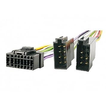 sony cable car radio iso adapter for car radio 16 pin amazon co rh amazon co uk