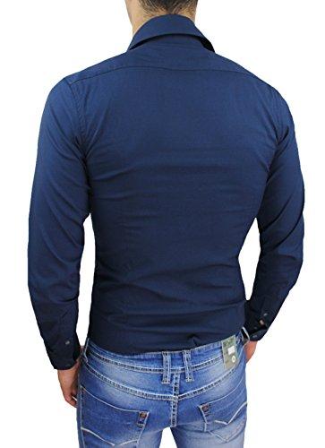 de hombre Collezioni Camisa Ak casual qXUZ6xwXR