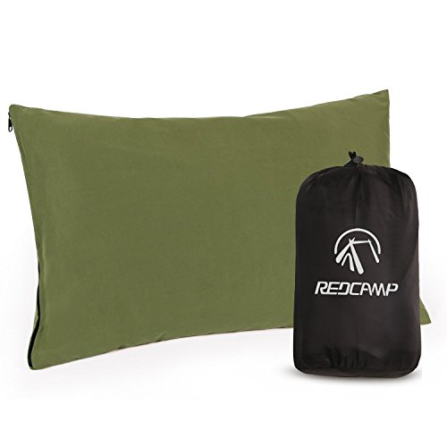 REDCAMP Small Camping Pillows for Sleeping, Cotton Ultralight Compressible Camp Pillow for Backpacking Hiking Outdoor…