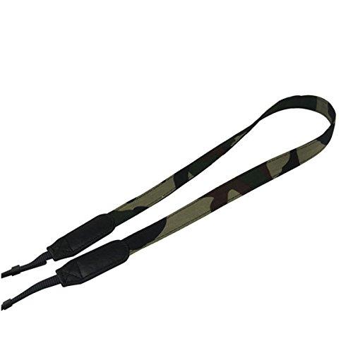(Mavota Camouflage Camera Shoulder Neck Strap Camera Belt For Canon Nikon Olympus Panasonic Pentax Sony DSLR Digital Cameras Blue)