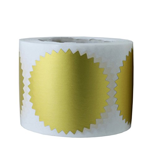 gold seals for embossing - 8